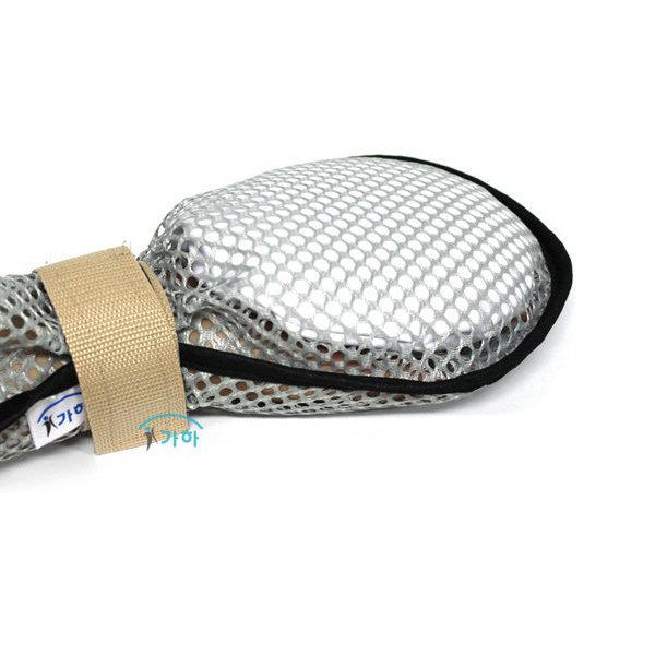 비즈 망사 억지장갑 손억제대 억제장갑 안전장갑
