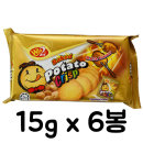 포테이토 크리스프 바베큐맛 90g/과자/쿠키/간식/안주