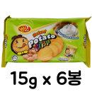 포테이토 크리스프 샤워크림향 90g /과자/비스켓/쿠키