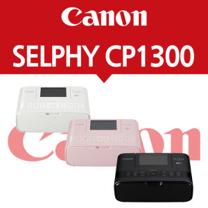 SELPHY CP1300 (White / Pink / Black)