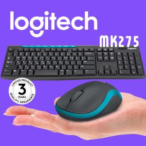 로지텍코리아 MK275 무선키보드마우스세트 정품