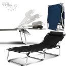 센시요2 textilene야전침대 캠핑의자 낚시 접이식의자