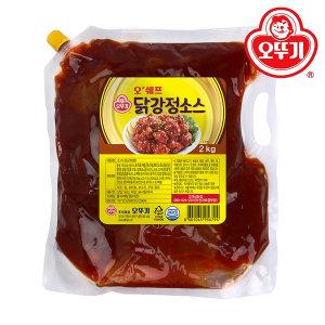 오쉐프 닭강정소스 스파우트팩 2KG