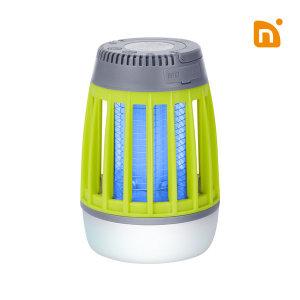 N트랩 휴대용 무선 모기 해충 벌레퇴치기 살충기 램프