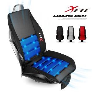 XFIT 4D 메쉬 쿨링시트 통풍 시트커버 차량용품 (블랙)