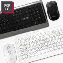 FOR LG 무선 키보드 마우스 세트 LGC-MKS8000 화이트