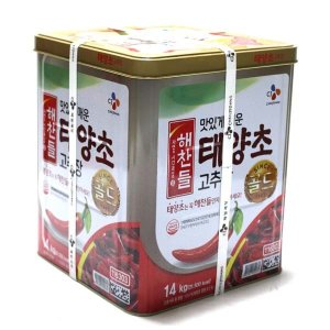 해찬들 태양초고추장 14kg /무료배송
