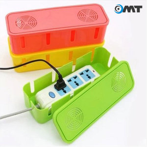 OMT 멀티탭정리함 케이블정리 멀티탭 MULTIBOX 핑크