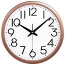 빅넘버35cm 골드 무소음벽시계 큰숫자 벽시계