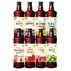 광야식품 감식초 홍초 오미자 매실 복분자 희석음료
