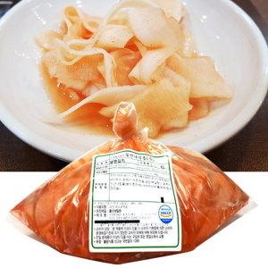 국산재료 냉면무우 무김치 1kg 단독구매불가/묶음 가능