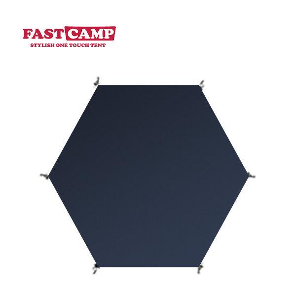 원터치 자동텐트 전용 그라운드시트 육각형