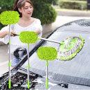 3단 길이 조절 세차 밀대 대걸레 청소 SUV 용품 미트
