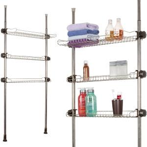 스마트 욕조위 선반 600-3단/욕실선반/선반/수납장