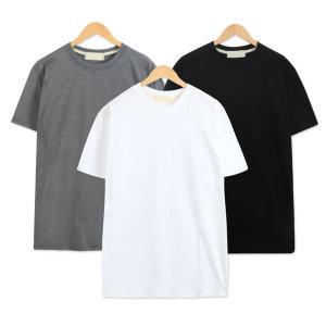 남자빅사이즈 티셔츠 무지티 라운드 반팔티 TAST102