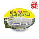 맛있는 오뚜기밥 고시히카리 210g 1박스(12개)