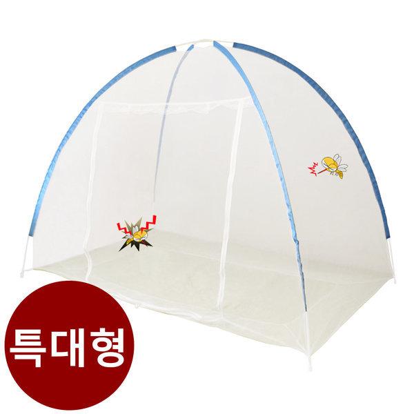 코매트 야광 원터치 모기장 방충텐트 침대모기장 특대