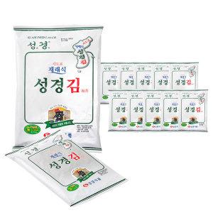 성경김 재래식 전장김 30gx10봉 고급원초 최신
