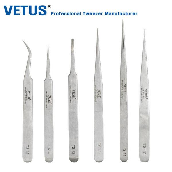 정품 VETUS TS-모델 프라모델핀셋 네일핀셋 정밀핀셋