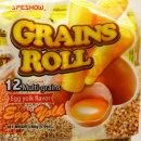 스페쇼우 12곡물 롤 계란노른자맛 160g/계란과자/쿠키