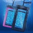 1+1 로즈핑크+블랙 핸드폰 휴대폰 방수팩 레릭 10m방수