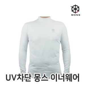 기능성 탁텔원단 스포츠 골프웨어 몽스 국산 화이트95