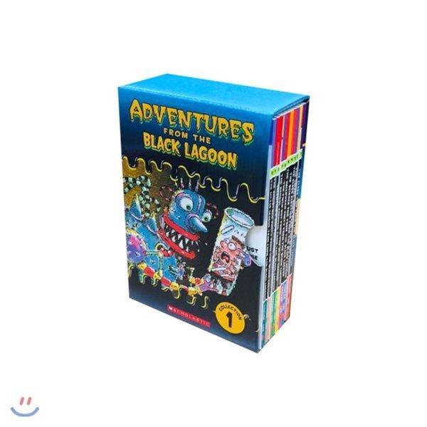 Black Lagoon Chapter Book Set 1 10 Books 블랙라군 챕터북 10종 박스  Mike Thaler  Jared Lee