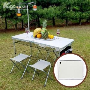120 특급 테이블(실버)/야외용테이블/접이식테이블