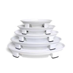 타원형 화분 받침대/컬러선택/물받이/받침/원형바퀴
