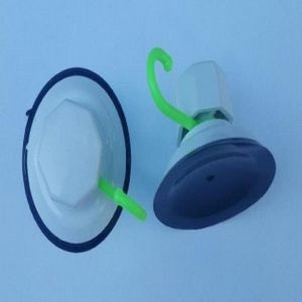 강력흡착기(대) (2개입) 편의용품 흡착후크 흡착고리