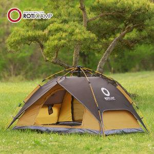 원터치 그늘막 컴포트 텐트 2인용 캠핑 낚시 한강