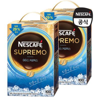 [네스까페] 수프리모 아이스 커피믹스 200T