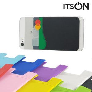 접착식 휴대폰 실리콘 카드 케이스