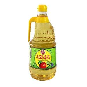 오뚜기 사과식초 1.8리터x2개 /