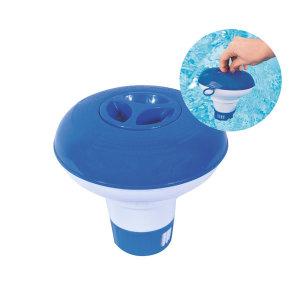 58210/수영장 소독약 통 /약을 통에 넣어 물에 띄움