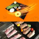 커스커즈 휴대용 바베큐 호일 불판 BBQ 그릴매트