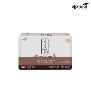 윤슬 한방생리대 실크 중형 16p