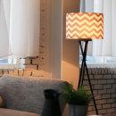 북유럽 장스탠드(그레이) + LED램프 전구색