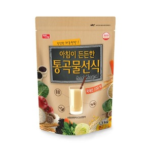 아침이 든든한 통곡물선식 국내산 1.3kg /식사대용