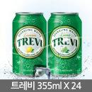 롯데 트레비 레몬 355ml X 24캔/
