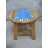 (세호마트)코끼리/원목낮은의자(중고/깨끗함)