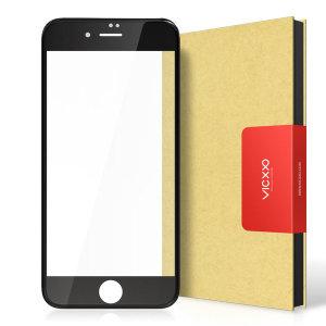아이폰8/7플러스 공용 4D 풀커버 강화유리 필름 블랙