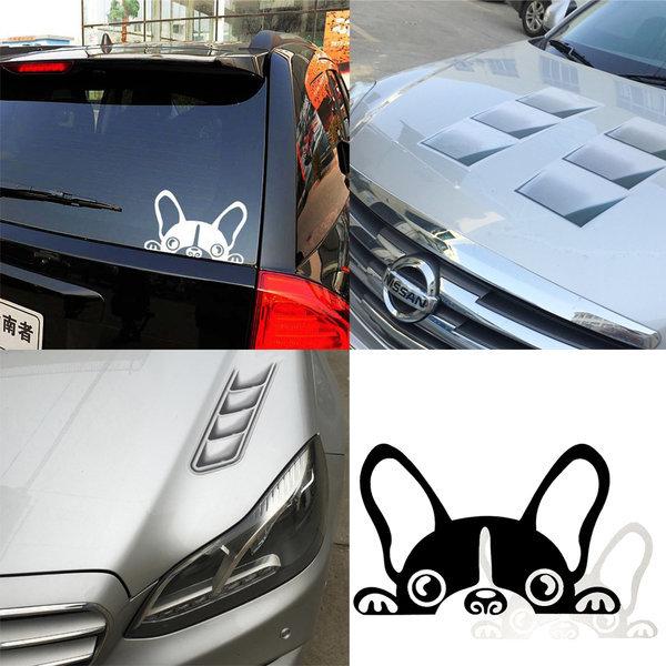 차량용 데칼 자동차튜닝 로고 포인트 스티커