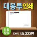 모조대봉투 기업체 서류봉투 제작 인쇄 300매