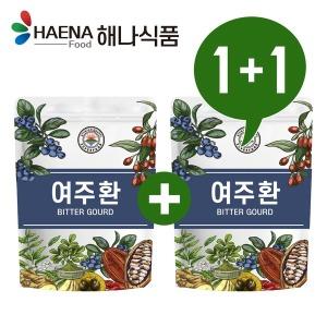 해나식품 국산 정품 여주 분말/환 300g 1+1