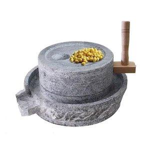수동 전통 맷돌 멧돌 반죽기 믹서기 절구 두부