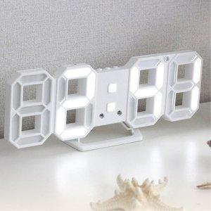 LED시계 무소음 디지털 시계 입체시계 탁상용시계