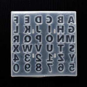 미라클 47 실리콘 몰드 알파벳 숫자형 36구 UV 레진