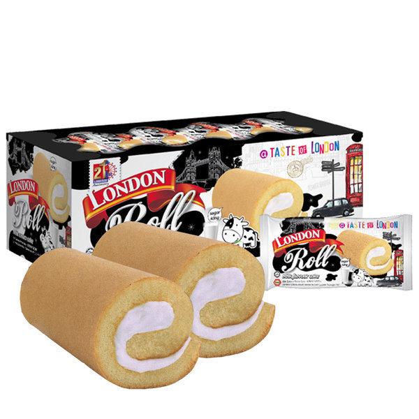 (무배) 런던 롤 밀크향 케이크(20개입) /빵/과자/쿠키