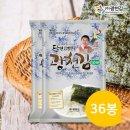 달인김병만의 광천김 파래전장김 36봉(20gx3Px12팩)